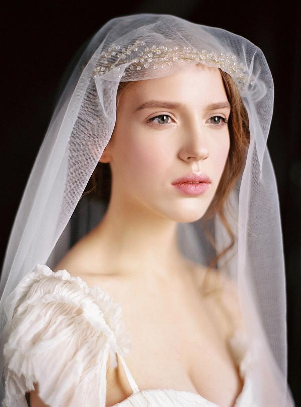 Bride with a Veil