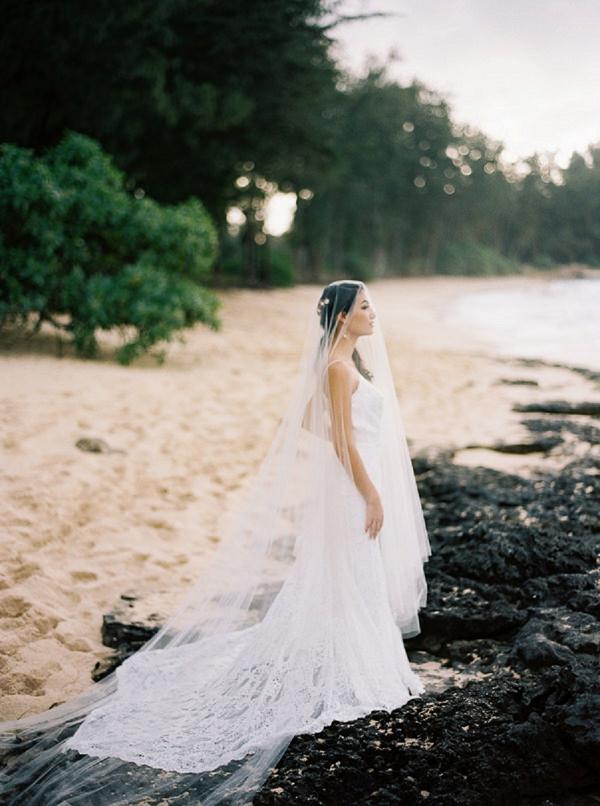 Bridal Portrait on the Beach