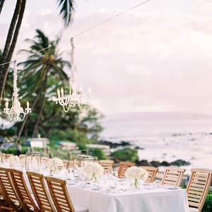 Tablescape at a Wedding Reception