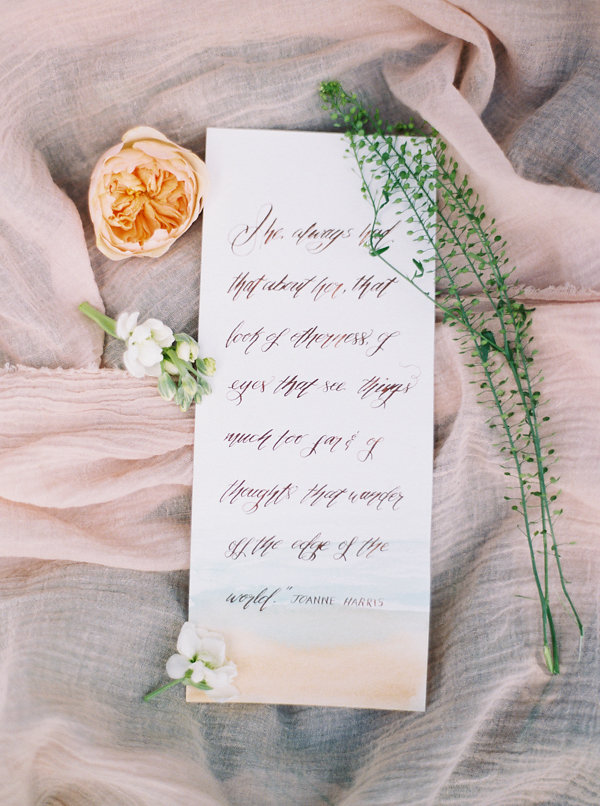 A Calligraphy Quote