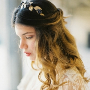 Leaf Bridal Crown