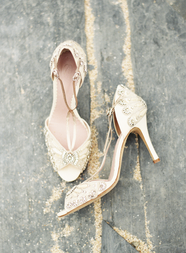 Vintage Inspired Wedding Shoes