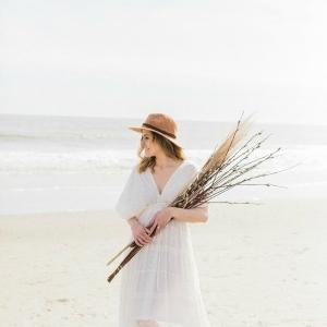 Beach Bohemian Bride