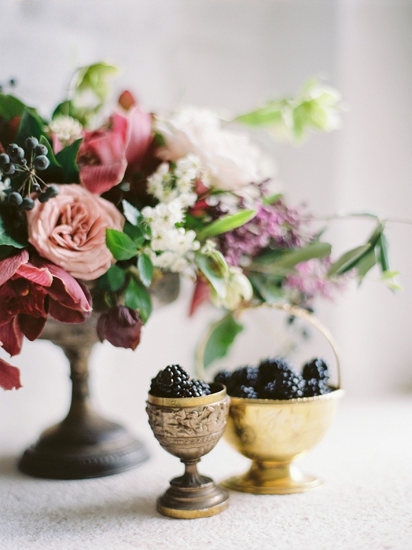 Floral Arrangement and Berries