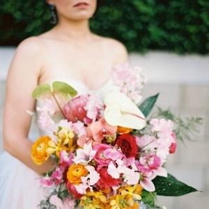 Vibrant Tropical Bouquet