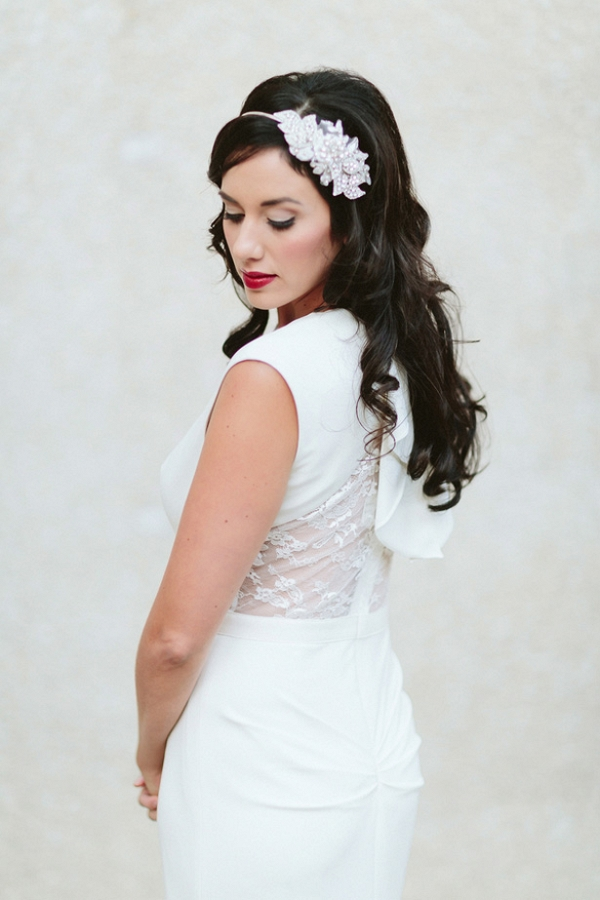 Art Deco Bridal Look