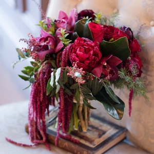 Gorgeous Red Wedding Bouquet
