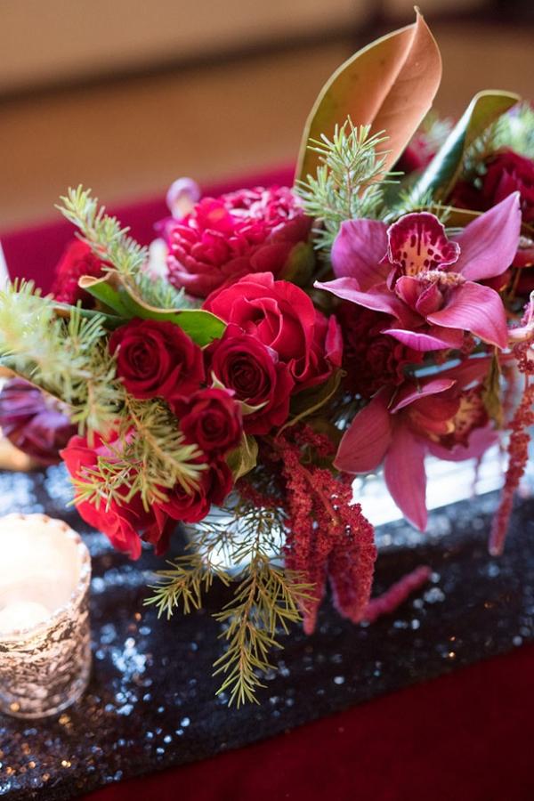 Red Floral Arrangement