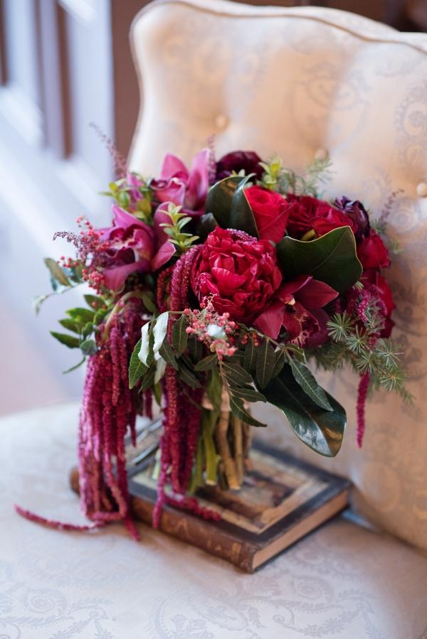 Gorgeous Red Wedding Bouquet
