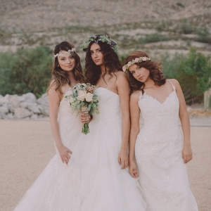 Bohemian Bridal Looks