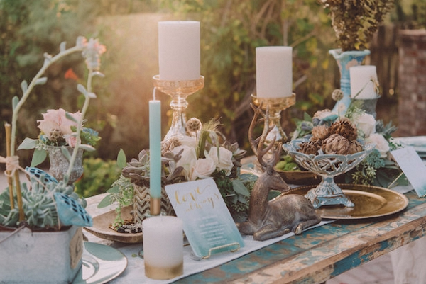 Boho Chic Tablescape