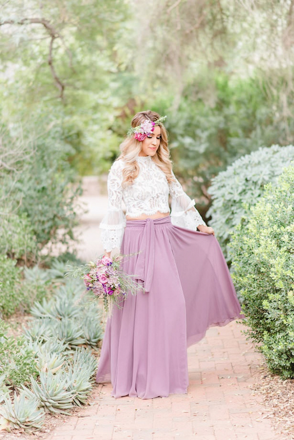 Boho bridesmaid dress
