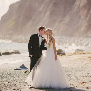 Romantic Beach Wedding Picture