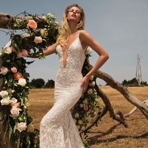 Mermaid style lace wedding dress from Galia Lahav's GALA Collection No.2