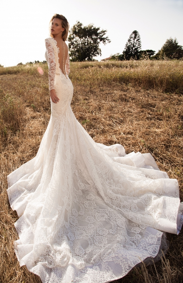 Statement back wedding dress by GALA Collection No.2 By Galia Lahav