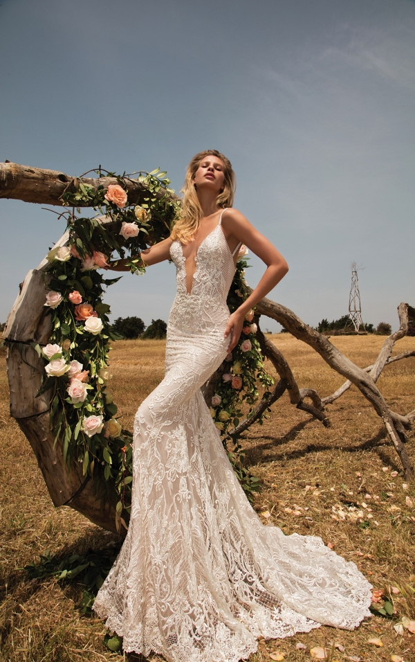 Mermaid style lace wedding dress from Galia Lahav's GALA Collection No.2