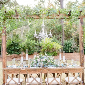 Rustic Wedding Table-Scape