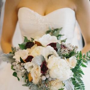 Luxury Winter Wedding Bouquet