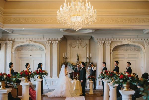 Luxury Winter Wedding Ceremony