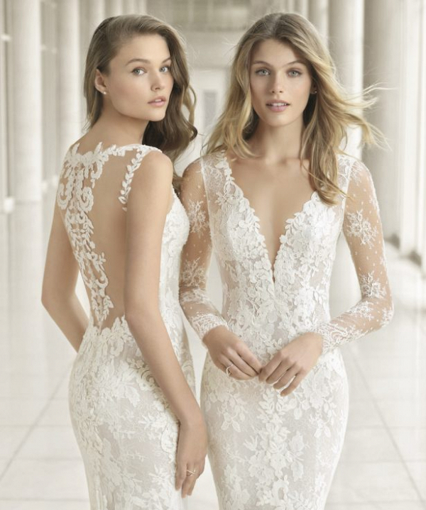 Lace wedding dresses by Rosa Clará