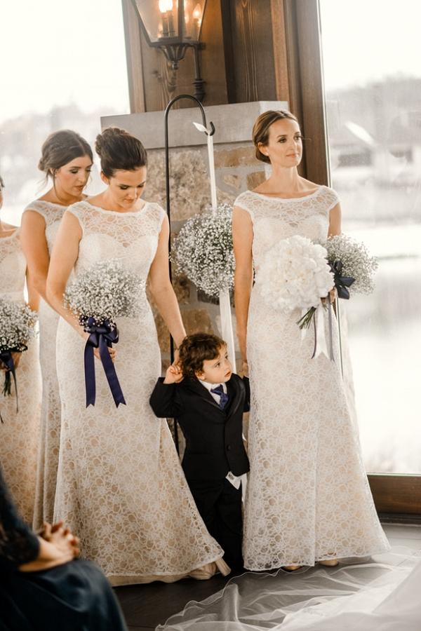 White Bridesmaids Dresses