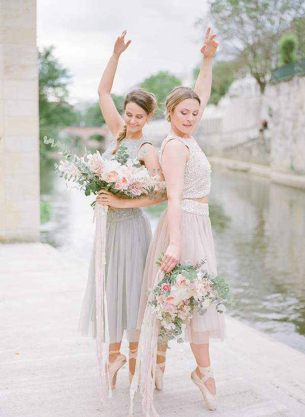 Fine art bridal inspiration with a ballet theme