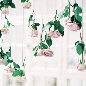 Hanging Rose Wedding Decor