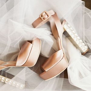 Contemporary Bridal Shoes by Mui Mui