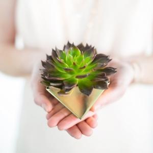 geometric spring wedding inspiration