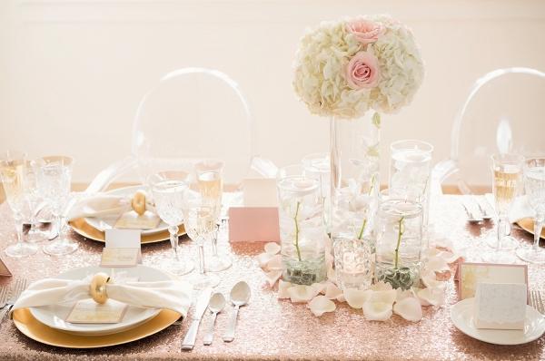 Blush Wedding Tablescape Inspiration