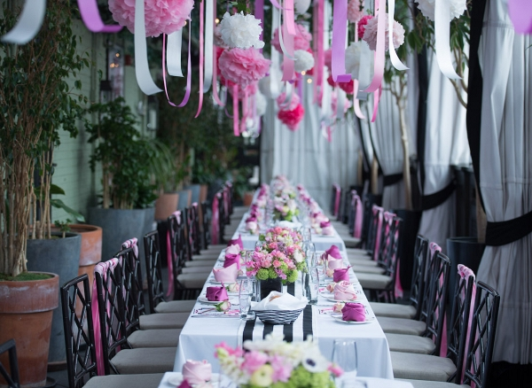 NYC Garden Inspired Bridal Shower