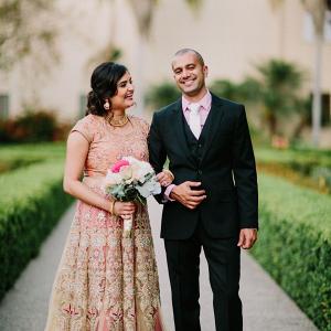 Elegant Indian couple on Bridal Musings