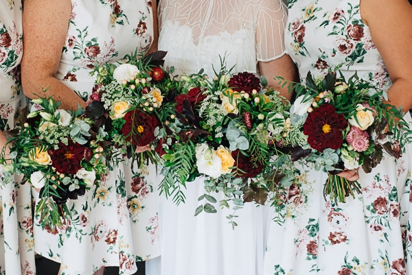 Rustic Floral Wedding: Brooke and Dave