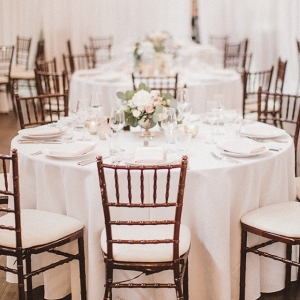 White Draping Mercury Glass Vintage Details Whimsical Seattle Warehouse Wedding