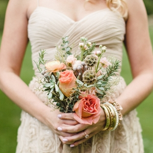 Mismatched Bridesmaids Dresses and Wildflower Bouquets Add Charm to This DIY Farm Wedding in Pittsburgh