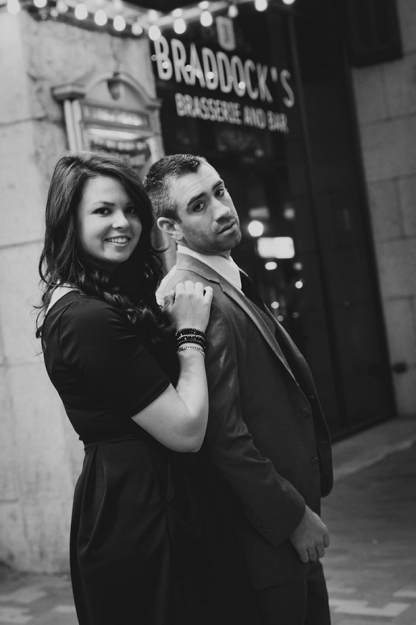 Little Black Dresses 3 Piece Suits Drama Flair Country City Engagement Session