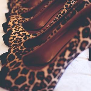 Bridesmaids Black Lace Bridesmaids Dresses ModCloth Leopard Print Nine West Heels