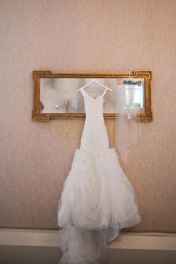 Beautiful Mori Lee Wedding Dress Exquisite Custom White Bridal Hanger Tulle Veil