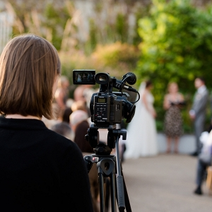 Wedding Videographer Moment Bride Groom Husband Wife