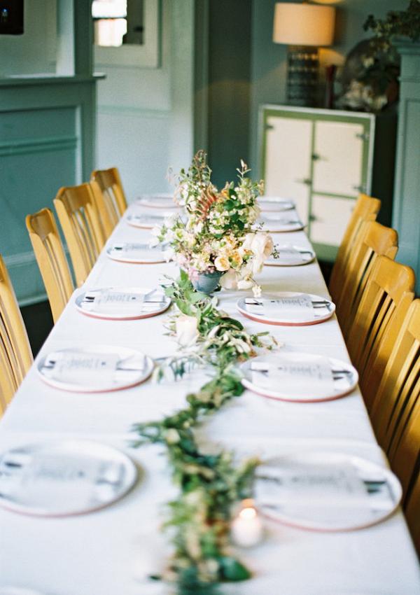 Simple organic reception table