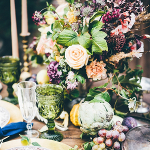 Dutch painting inspired tablescape