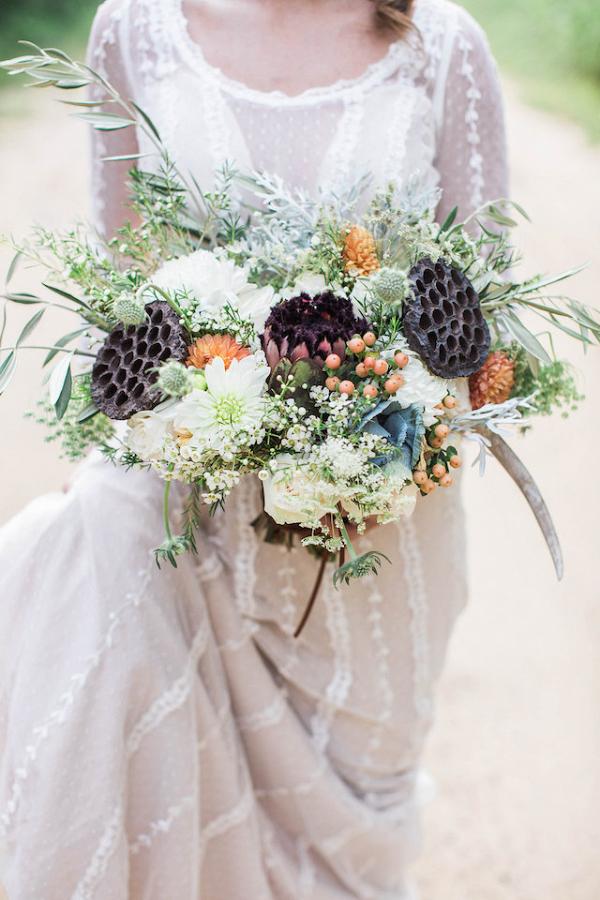 Lush wild bouquet