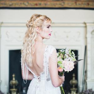 Boho glam bride