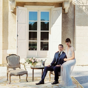 French chateau wedding on Burnett's Boards