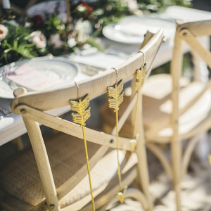 Arrow Chair Decor