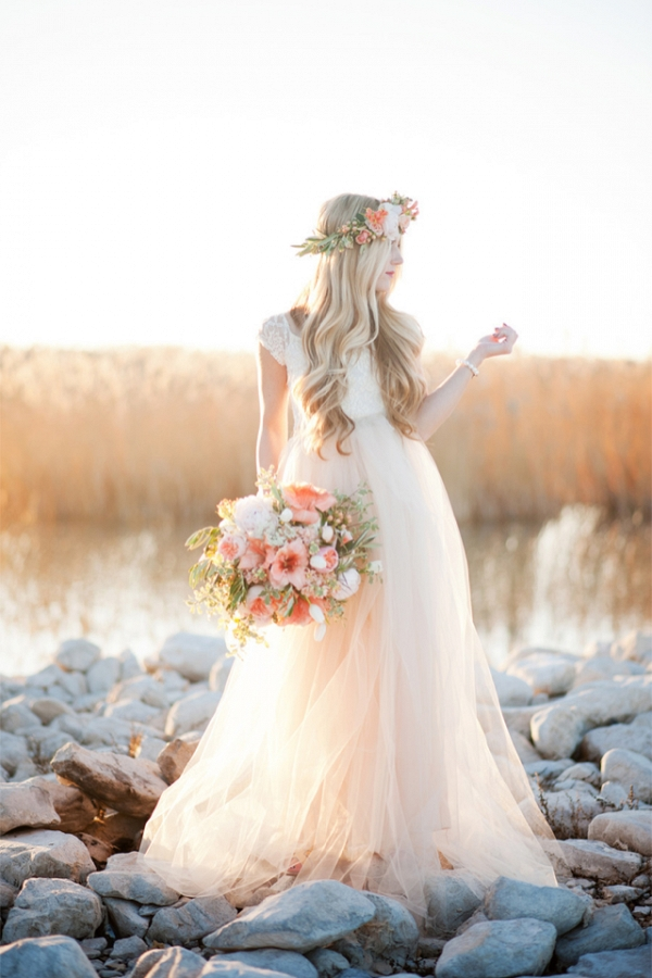 Handmade Tulle Wedding Dress