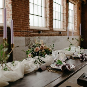 Spring Indoor Tablescape