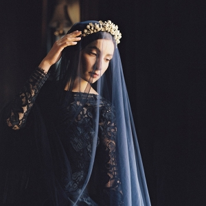 Beautiful Black Wedding Dress from Sareh Nouri's 2016 Collection