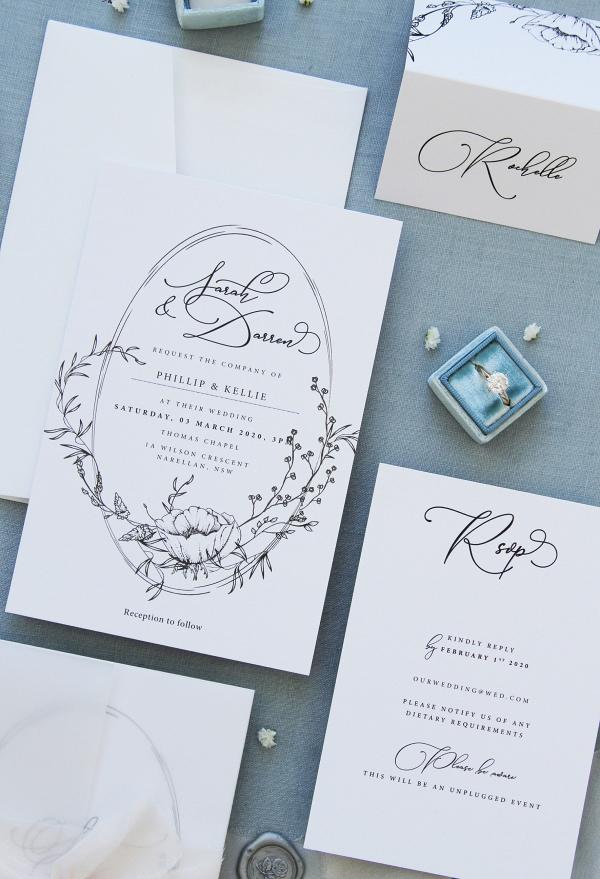Printable Wedding Invite