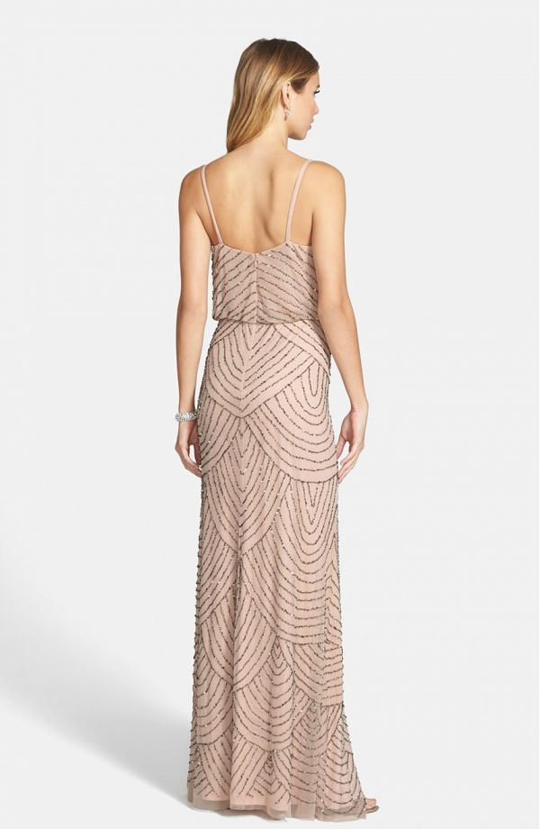 Adrianna Papell Embellished Blouson Bridesmaid Dress